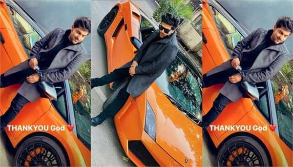 guru randhawa bought new lamborghini gallardo car