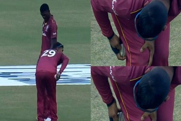 nicholas pooran ball tampering video viral