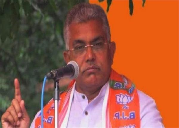 cow meat bjp president dilip ghosh eat dog meat