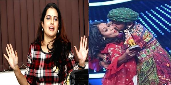 sona mohapatra claims indian idol s viral forced kiss video