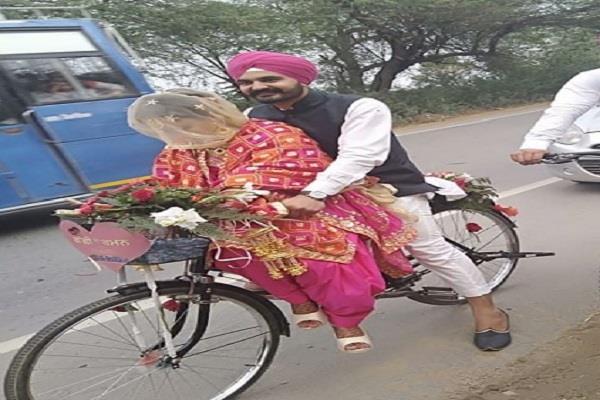 talwandi sabo youth gurbaksh singh cycle marriage