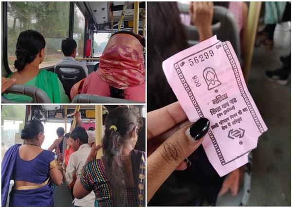 delhi pink tickets women free travel