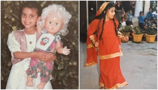 special children day   nimrat khaira childhood pictures share