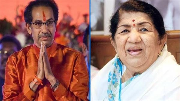 uddhav thackeray visits lata mangeshkar in hospital  enquires about health