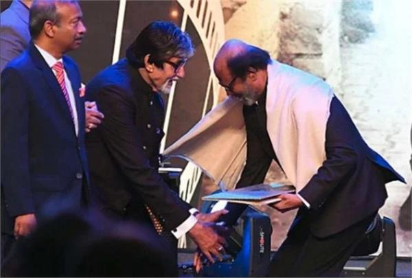 i consider rajinikanth as a member of my family says amitabh bachchan
