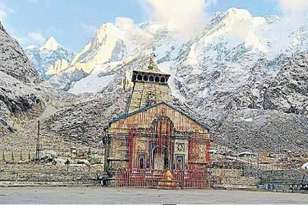 kedarnath badrinath snowfall