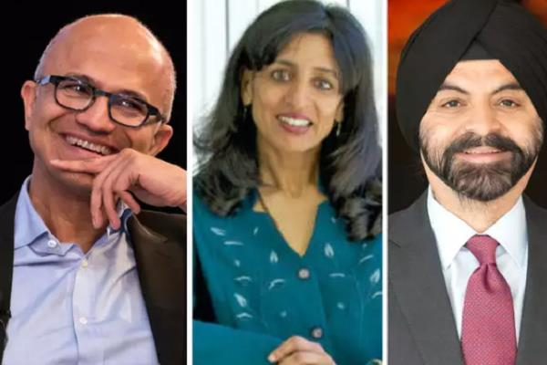 fortune indians in fortune  s list  microsoft ceo satya nadella at top