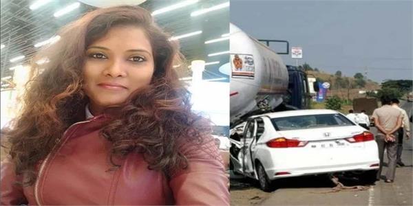singer geeta mali ki road accident main maut pati gambhir roop se ghayal