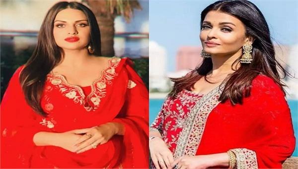 bigg boss13 himanshi khurana reveals people compare her with aishwarya rai