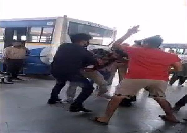 video viral  moga  beaten  social media
