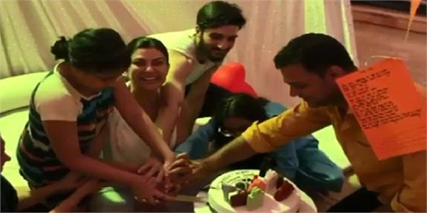 sushmita sen gets birthday surprise party