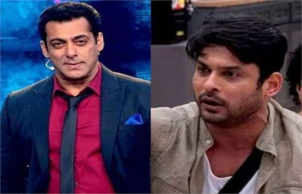 bigg boss 13 shocking salman khan threatens sidharth over his violent actions