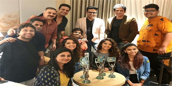 the kapil sharma show wins big in an award function