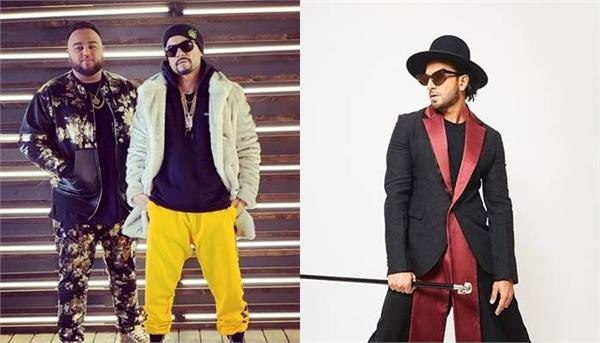 ranveer singh support deep jandu and bohemia punjabi songs