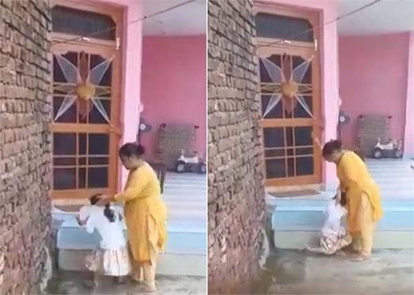 j k mother brutally beat her baby