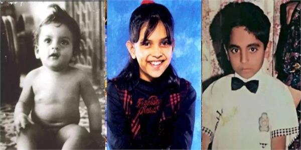 bollywood shah rukh khan to ranbir kapoor bollywood stars photo of childhood