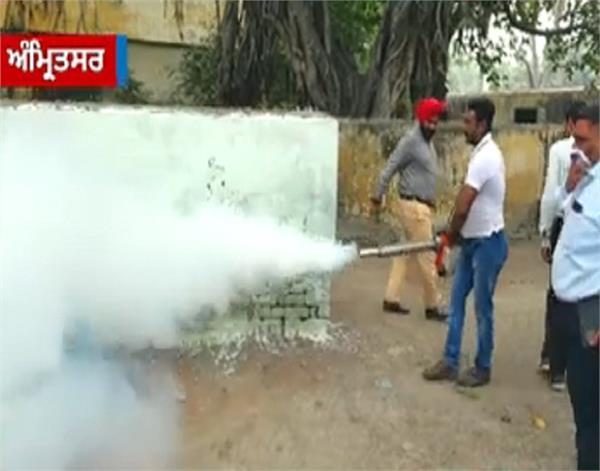 amritsar  dengue  unique look