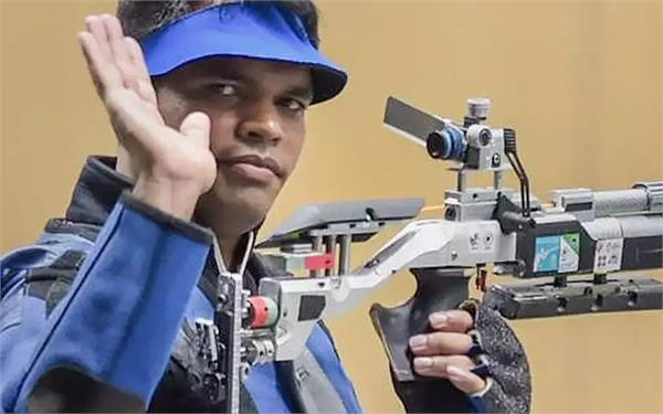 shooter deepak wins bronze bags olympic quota
