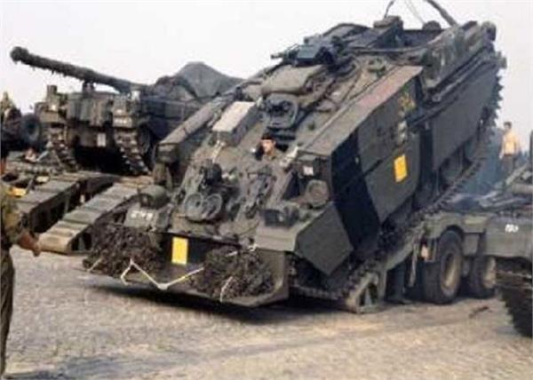 jaisalmer war practice tank young death