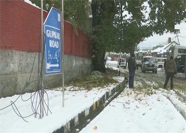j k highway closed  4 000 vehicles stranded