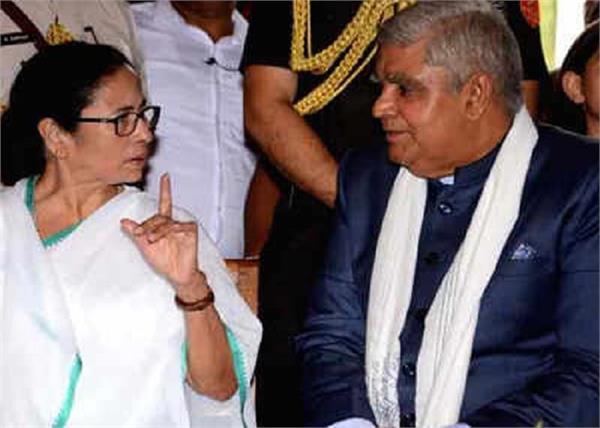 west bengal governor jagdeep dhankhar chief minister mamata banerjee