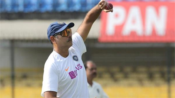 shastri was once again trolled by fans after posts his photo while bowling