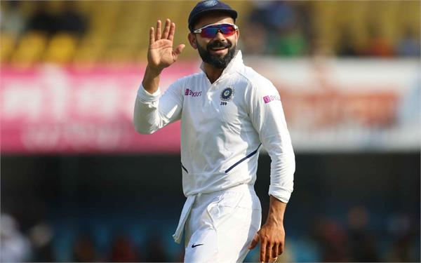 kohli records 10th innings win in indore test breaks ms dhoni s record
