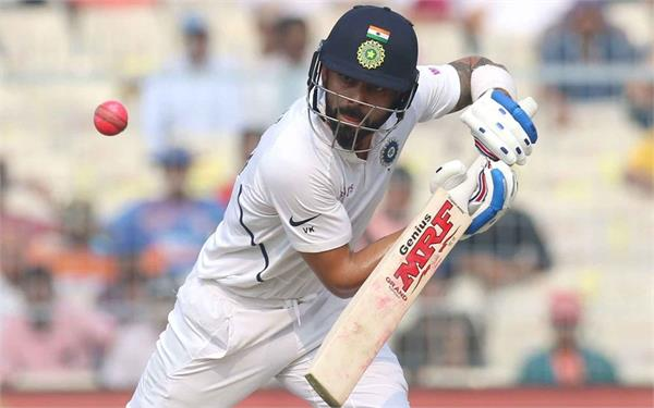 not virat kohli dravid is the first indian to score century in pink ball cricket