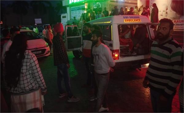 jalandhar hospital ambulance women death