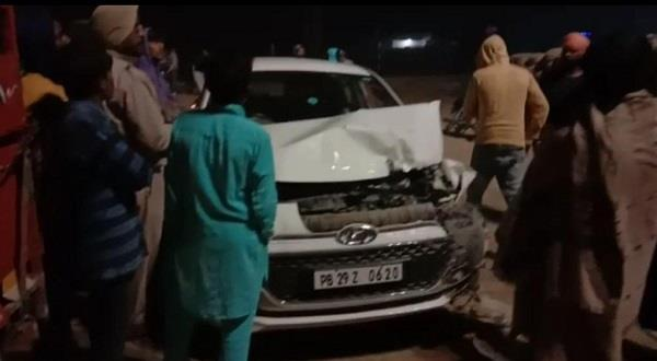 road accidents  son and father death