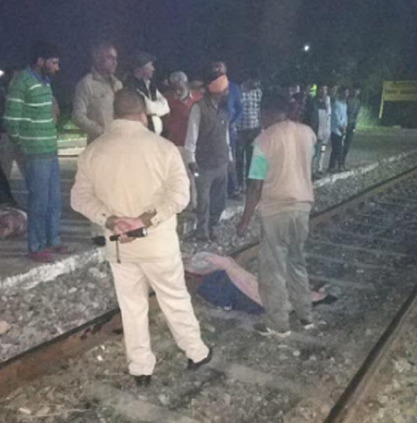 train  incident  elderly women  death