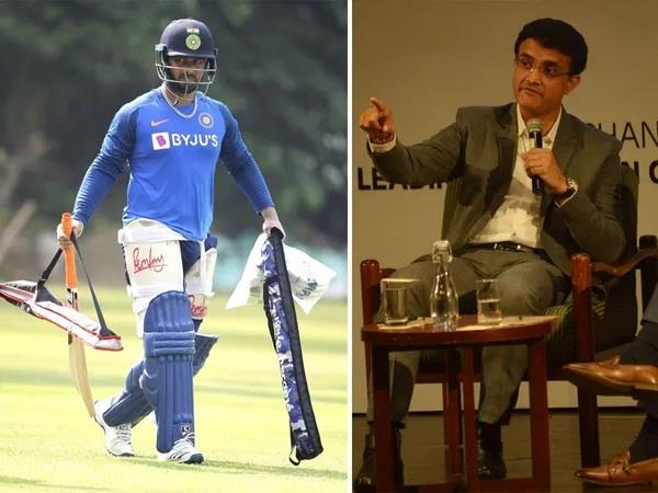 needing to give time to the pant  he will perform well  ganguly