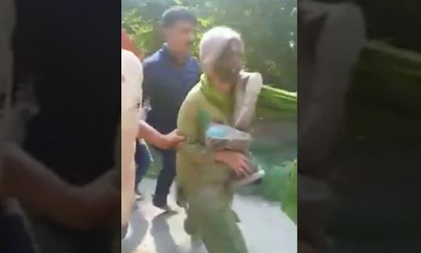 violence against elderly woman in faith in himachal