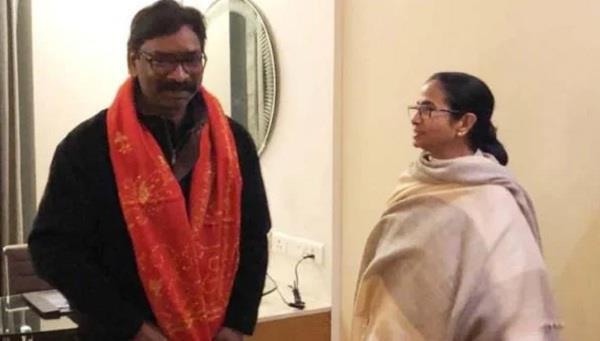 jmm leader hemant soren take oath jharkhand cm