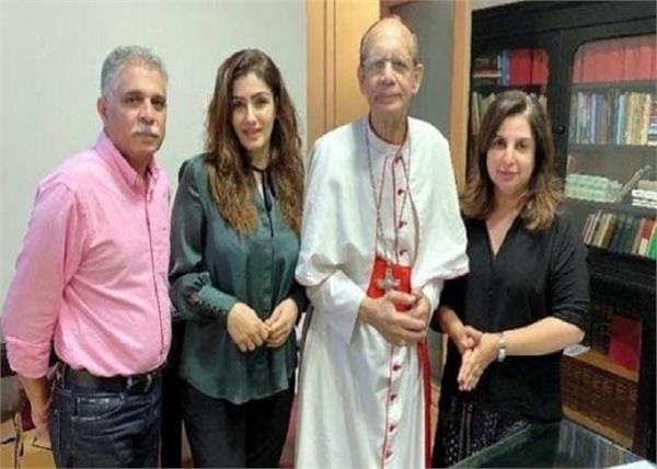 farah khan and raveena tandon apologise to cardinal oswald gracias