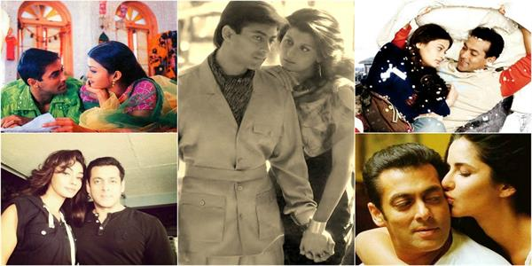 beautiful celebrity salman khan has dated