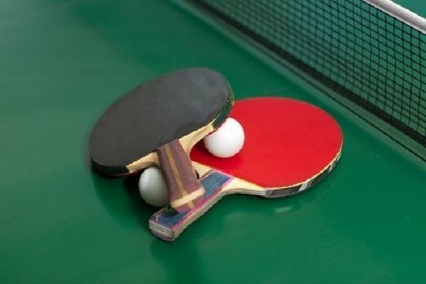 table tennis  anthony amalraj  gold medal