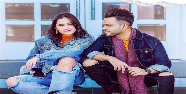 akhil shared his upcoming song kalla sohna nahi with sanjeeda shaikh
