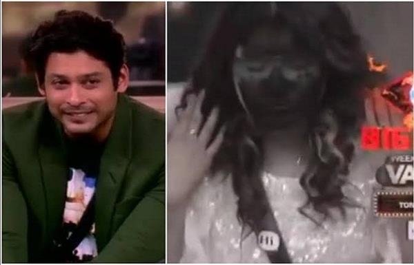 siddharth shukla asim riaz will apply black color on shehnaz face
