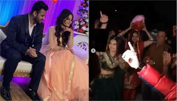 mohit banwait and  tanvi nagi wedding video viral
