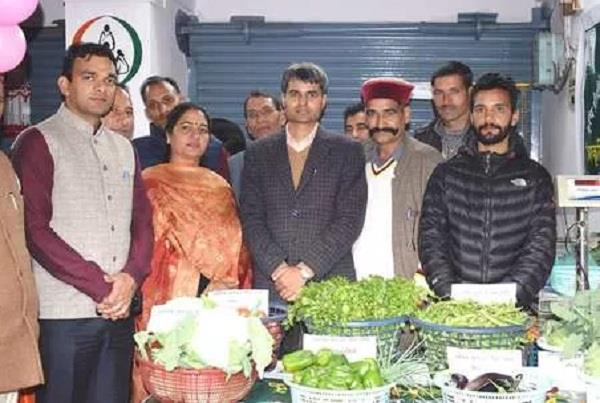 zero cost natural farming product sales center opened in mandi