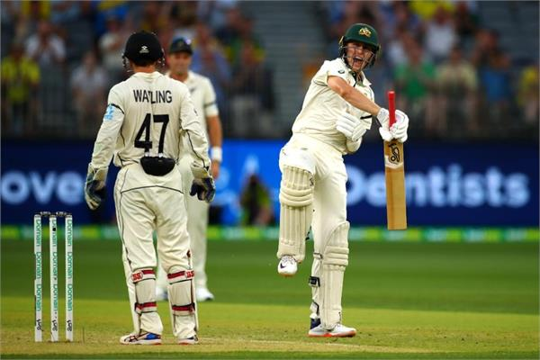 labuschagne scores another century but new zealand stage late fightback