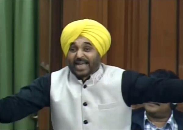 parliament citizenship amendment bill bhagwant mann drunk bjp