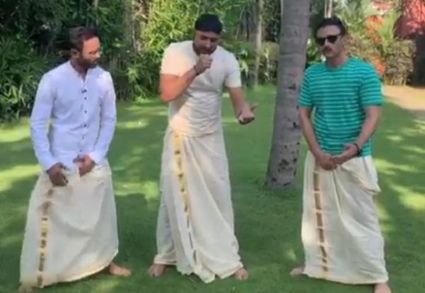 cricketer harbhajan singh lungi punjabi song