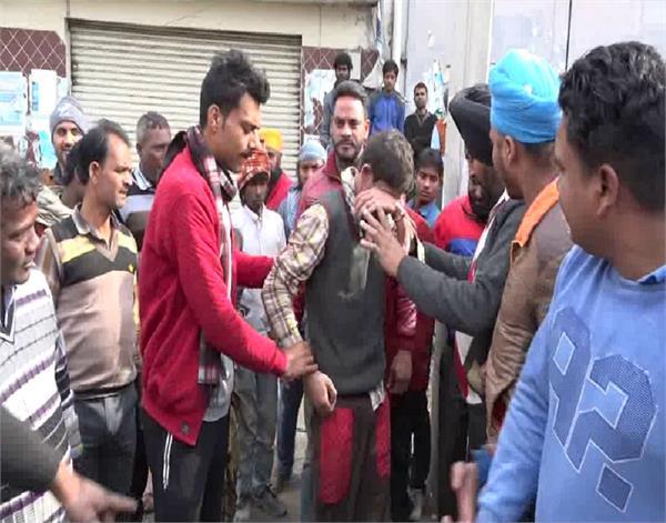 amritsar kid kidnap hungama beaten baby girl kidnaping