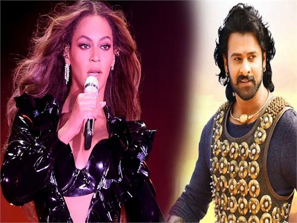 prabhas and  beyonce