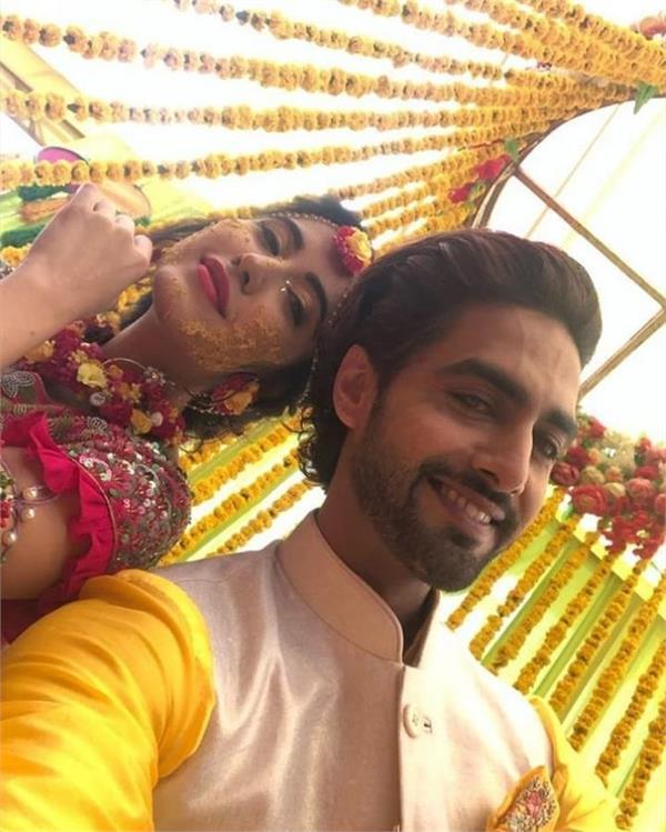 sheena bajaj and rohit purohit pre wedding festivities