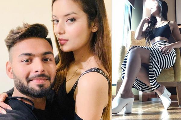 pant  s girlfriend is not less than bollywood actress  see pictures