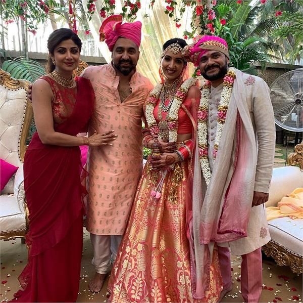 shilpa shetty   nanad   reena wedding