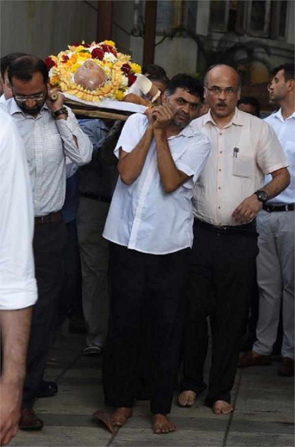 rajkumar barjatya s funeral